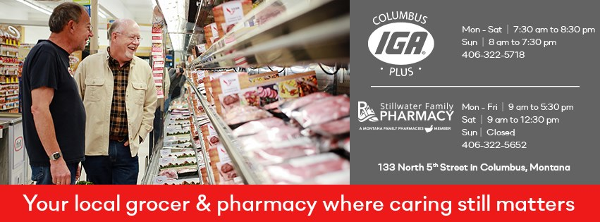 Columbus IGA Plus located in Columbus, Montana