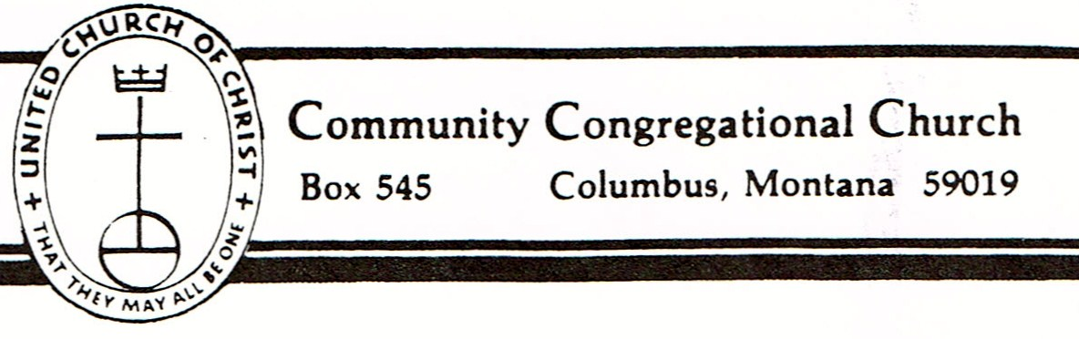 Columbus Community Congregational Church located in Columbus Montana