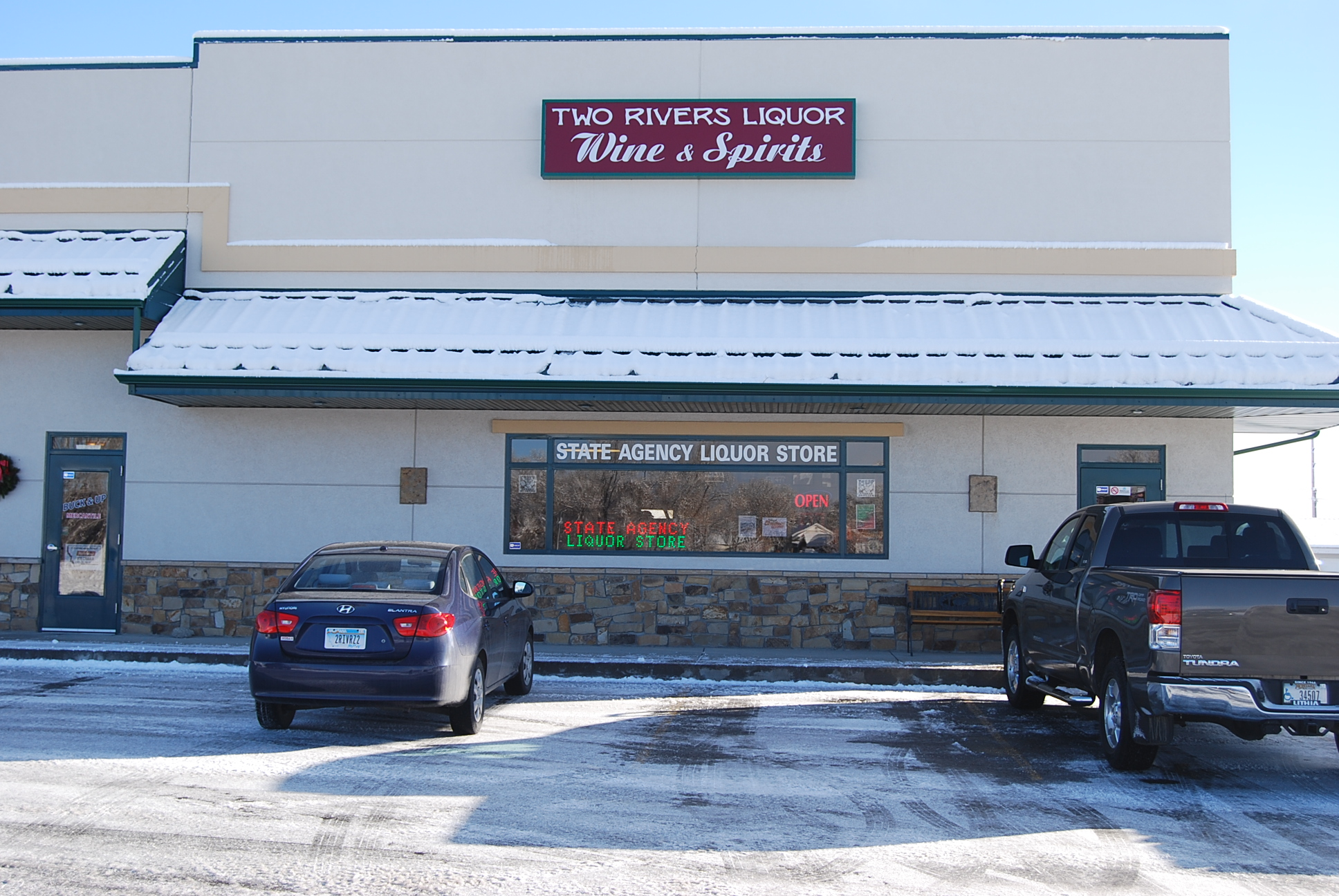 Two Rivers Liquor & Wine located in Columbus, Montana