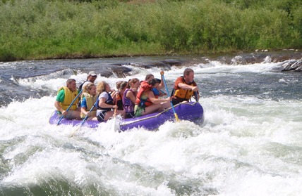 Rafting on the Stillwater - photo courtesy of Absaroka River Adventures