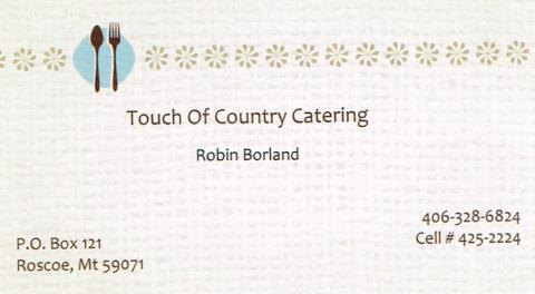 Touch of Country Catering