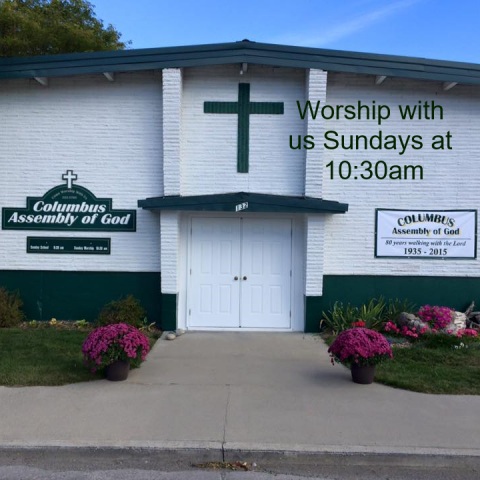 Columbus Assembly of God located in Columbus, MT