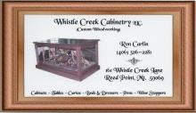 Whistle Creek Cabinetry located in Reed Point, Montana