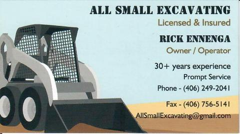 All Small Excavating