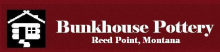 Bunkhouse Pottery located in Reed Point, Montana