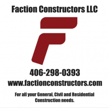 Faction Constructors located in Columbus, MT
